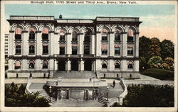 Borough Hall, 177th Street and Third Avenue