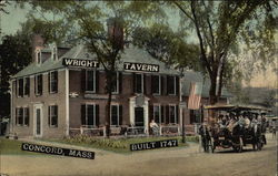 Wright Tavern, Built 1747