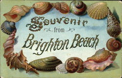 Souvenir from Brighton Beach