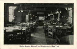 Dining Room at the Roycroft Inn