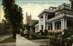 1st M.E. Church and Tustin Mansion