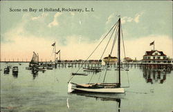Scene on Bay at Holland, Rockaway