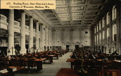 University of Wisconsin - Reading Room, State Historical Library
