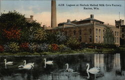 Lagoon at Horlick Malted Milk Co.'s Factory