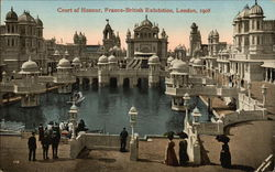 Court of Honour, Franco-British Exhibition, London, 1908