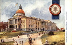 The Massachusetts State Capitol
