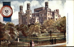 The Louisiana State Capitol and Seal