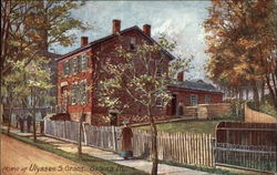 Home of Ulysses S. Grant Postcard