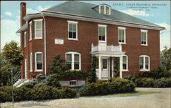 Annie L. Lowry Memorial Infirmary at Lutheran Orphans' Home