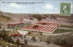 General View of Modern Woodmen of America Sanatorium