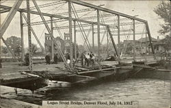 Logan Street Bridge, Flood of July 14, 1912
