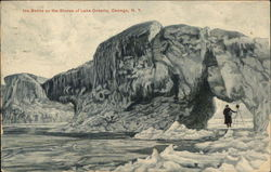 Ice Banks on the Shores of Lake Ontario