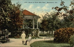 Scene in North Side Park
