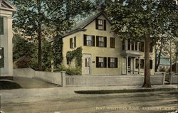 Poet Whittier's Home