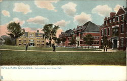 William Collage, Laboratories and Jesup Hall Postcard