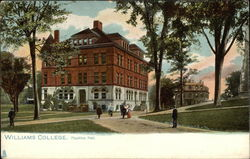 Williams College - Hopkins Hall Postcard