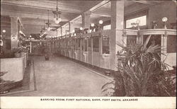 Banking Room, First National Bank