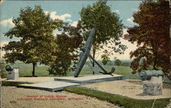 Anchor of USS Maine, Arlington National Cemetery