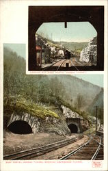 East Portal Hoosac Tunnel Showing Abandoned Tunnel