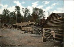 Maine Logging Camp