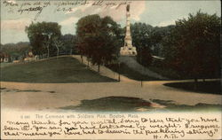 The Common with Soldiers Monument