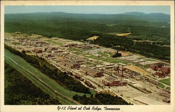 Atomic Energy Commissions Y-12 Plant Oak Ridge Tennessee