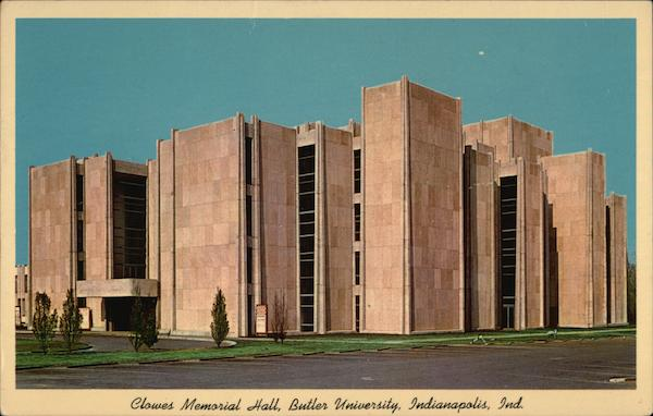 Clowes Memorial Hall, Butler University Indianapolis
