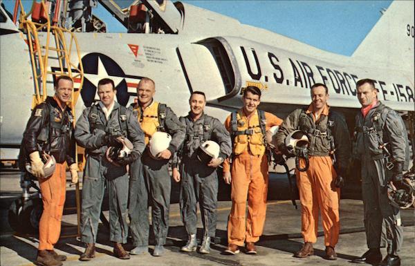 original seven astronauts selected - photo #12
