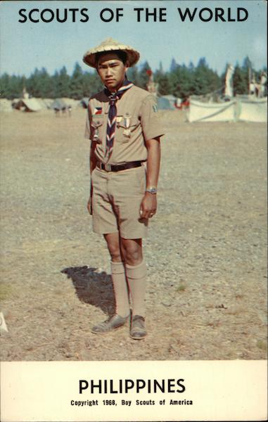 1968 Scouts of the World Philippines Boy Scouts