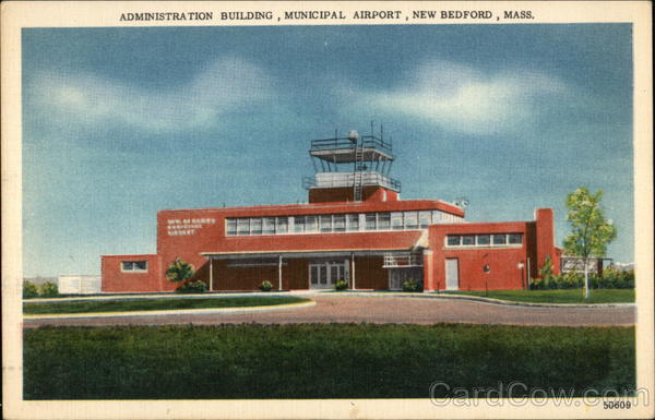 Administration Building, Municipal Airport New Bedford Massachusetts