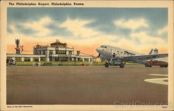 The Philadelphia Airport Pennsylvania The Photo-Illustrators