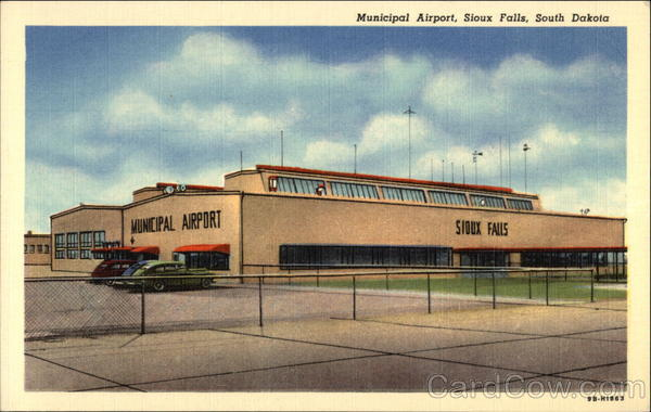 Municipal Airport Sioux Falls South Dakota Airports