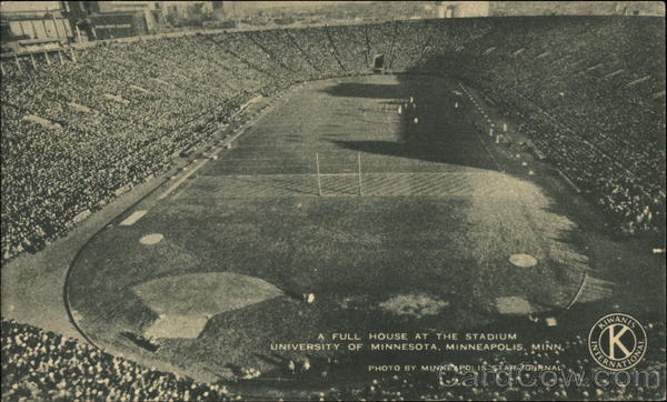 A Full House at the Stadium, University of Minneapolis Minnesota
