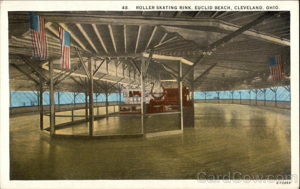 Roller Skating Rink, Euclid Beach Cleveland Ohio