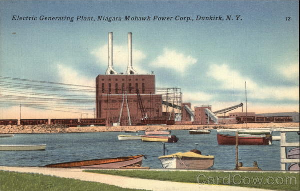 Electric Generating Plant, Niagara Mohawk Power Corporation Dunkirk New York