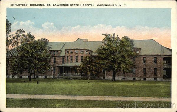 Employees' Building, St. Lawrence State Hospital Ogdensburg New York