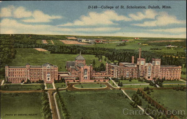 College Of Saint Scholastica >> College of St. Scholastica Duluth, MN