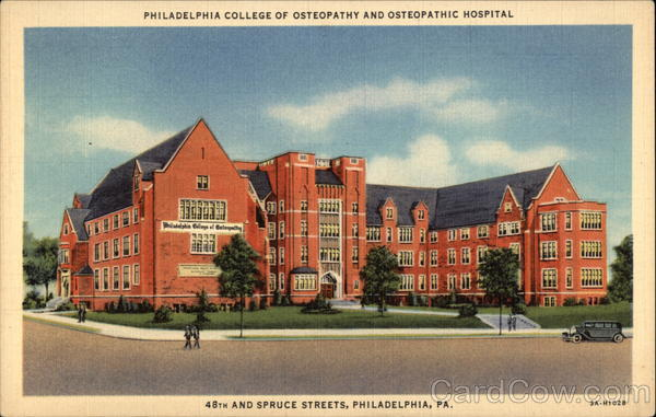 Philadelphia College of Osteopathy and Osteopathic Hospital Pennsylvania
