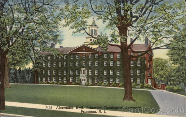 Alexander Hall, Princeton Theological Seminary New Jersey