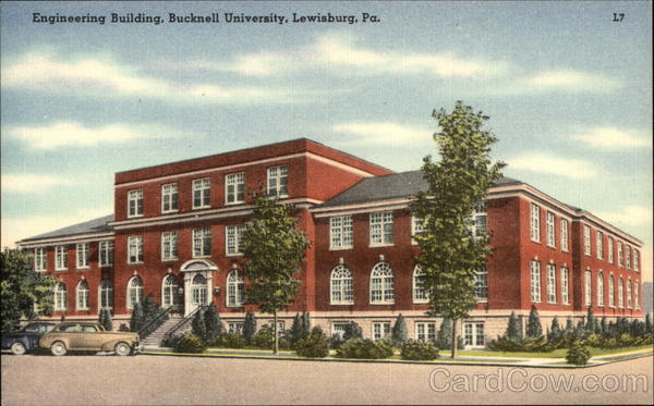 Engineering Building, Bucknell University Lewisburg Pennsylvania