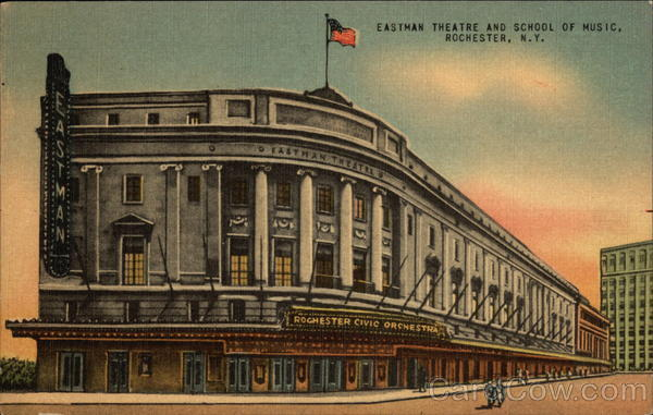 Eastman Theatre and School of Music Rochester New York