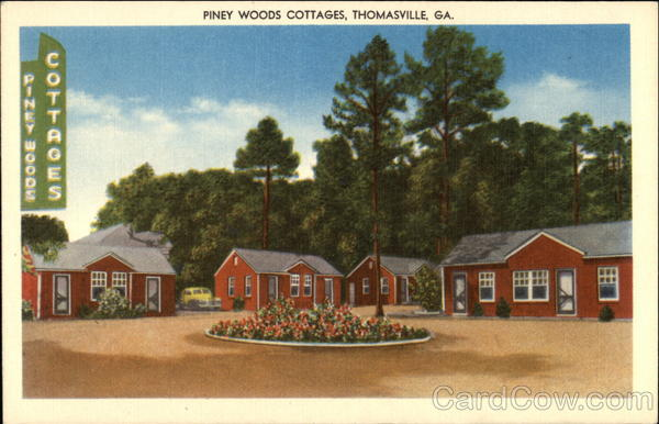 Piney Woods Cottages Thomasville Georgia