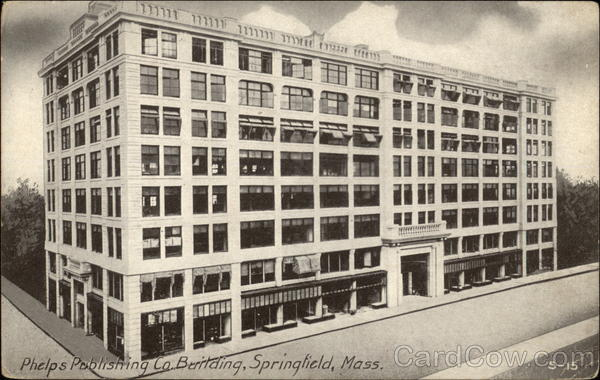 Phelps Publishing Co. Building Springfield Massachusetts