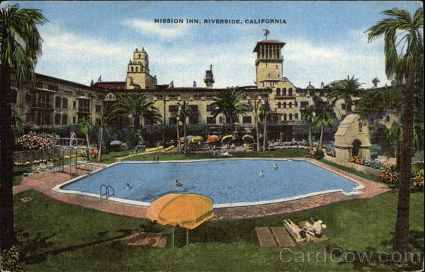 mission inn swimming pool el aqua azul riverside ca