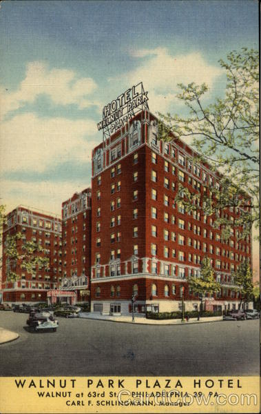 Walnut Park Plaza Hotel Philadelphia Pennsylvania