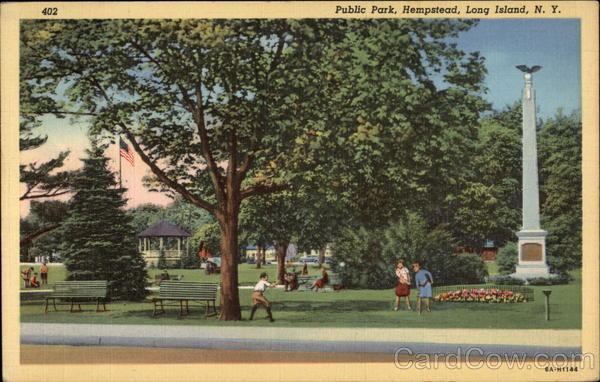 Public Park, Hempstead Long Island New York
