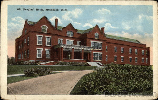 Old People's Home Muskegon Michigan