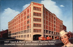 Liggett & Myers' Great Modern Cigarette Factory