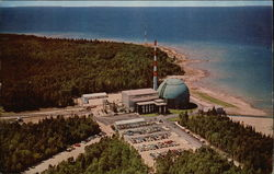 Big Rock Point Nuclear Power Plant Postcard