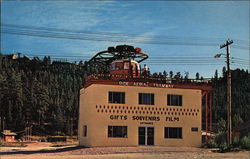 Big Rock Aerial Tramway Postcard